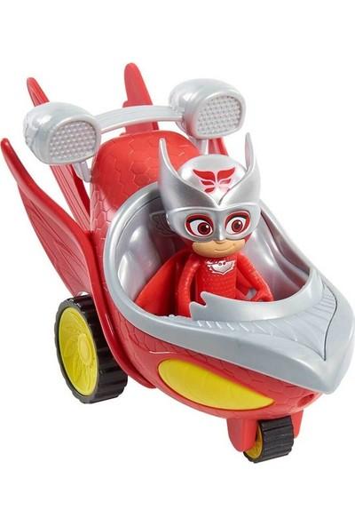 Pijamaskeli Speed Booster Araçlar Pjmask Owl Glider