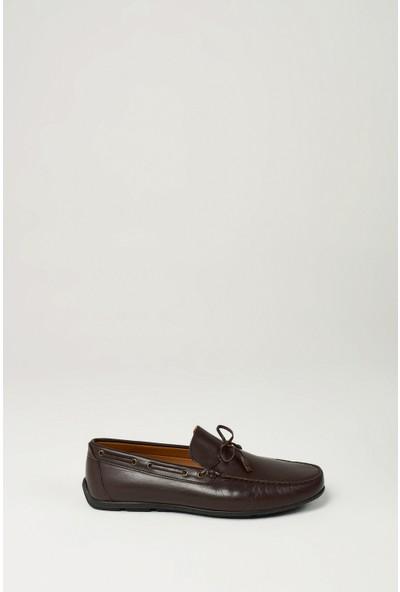Uniquer Erkek Deri Ayakkabı 10134U 12221 Kahverengi