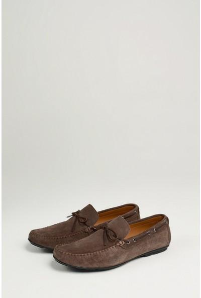 Uniquer Erkek Deri Ayakkabı 10134U 1873 Koyu Vizon