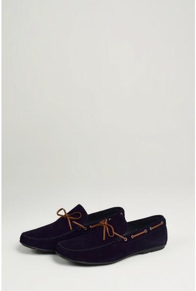 Uniquer Erkek Deri Ayakkabı 10134U 1873 Lacivert