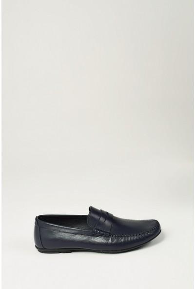 Uniquer Erkek Deri Ayakkabı 10134U 7220 Lacivert