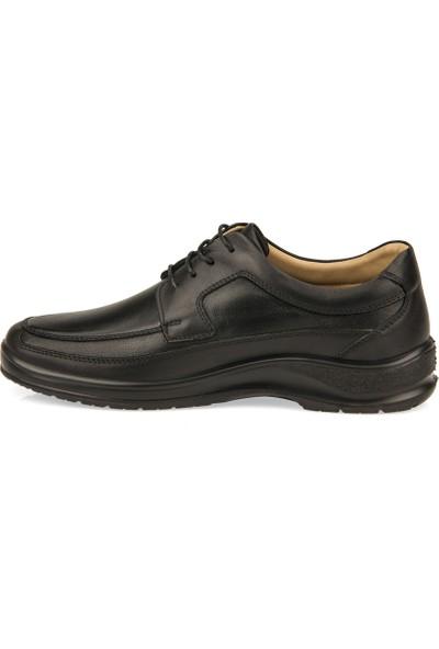Esse By Ziya Erkek Deri Ayakkabı 101246E 15518 Siyah