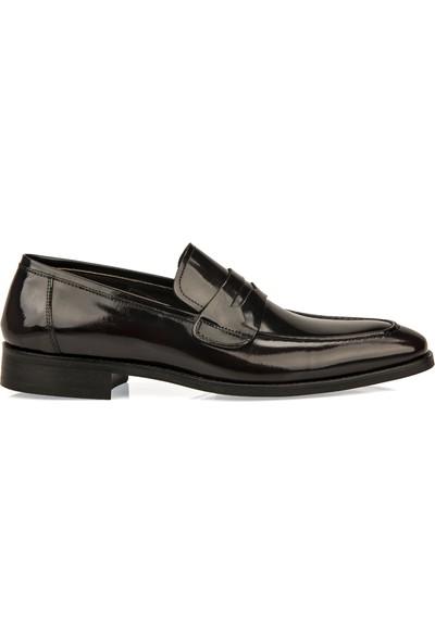 Ziya Erkek Deri Ayakkabı 93145 440 Bordo