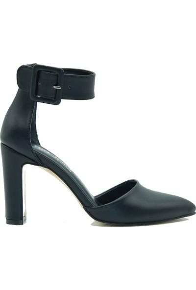 Park Moda Kadın Topuklu Ayakkabı 286-319 Siyah.cilt
