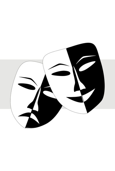 Oracal Maske 100 x 90 Siyah Duvar Sticker