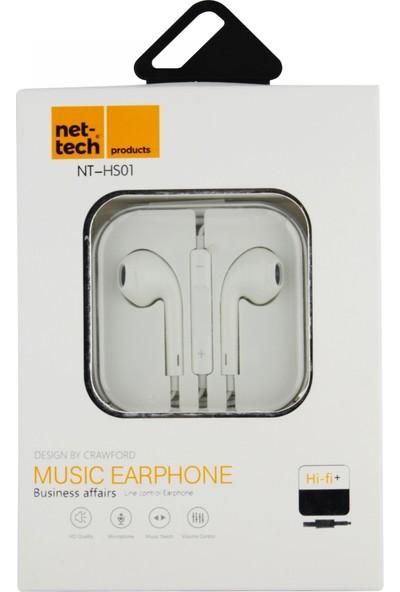 Nettech NT-HS01 Stereo 3.5 mm Kablolu Kulak İçi Kulaklı