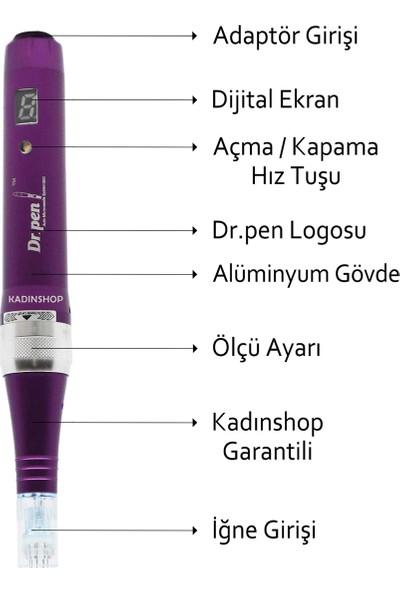 Dr. Pen X5-C Kablolu Dermapen (Dr. Pen Türkiye Garantili) Mikro Iğneleme Cihazı Derma Pen Dermaroller Cihazı