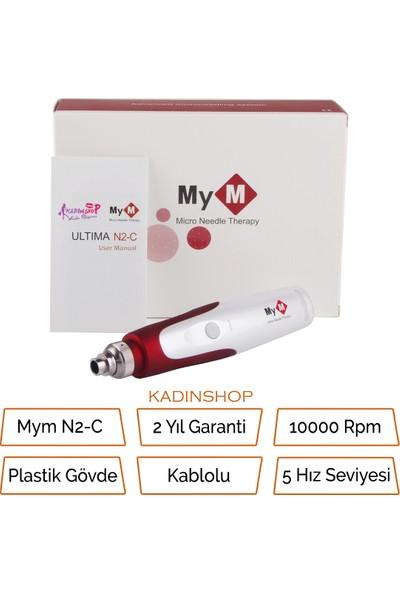 Mym N2-C (Tr Garantili) Dermapen Mikro Iğneleme Cihazı Kablolu Derma Pen Dermaroller Cihazı