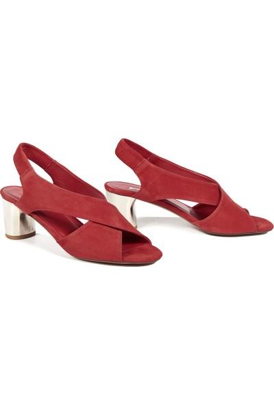 Desa Carson Kadın Deri Topuklu Sandalet