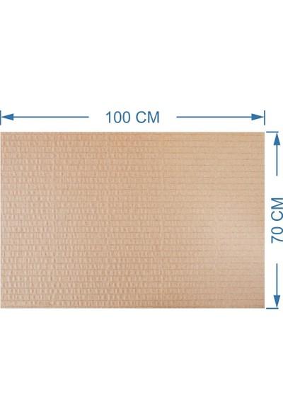 Kraft 70x100cm 6mm Oluklu Mukavva Karton 8'li Paket Ödev Kartonu - Proje Kartonu