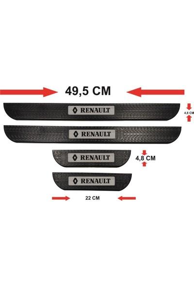 Ömr Dizayn Hediye Renault Abs Soft Kapı Eşiği Çıtası 4'lü Set