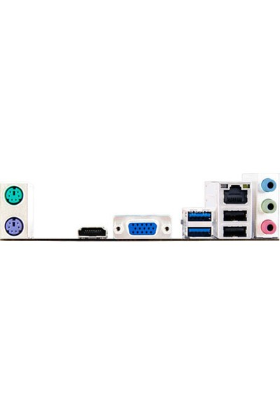 Biostar H81MHV3 1600 Mhz DDR3 Soket 1150 ATX Anakart