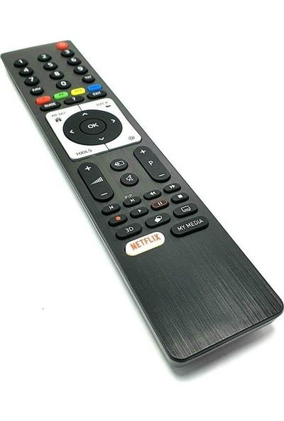 Electroon Beko Netflix 3D Smart LED Tv Kumandası Siyah TS5187R-A1