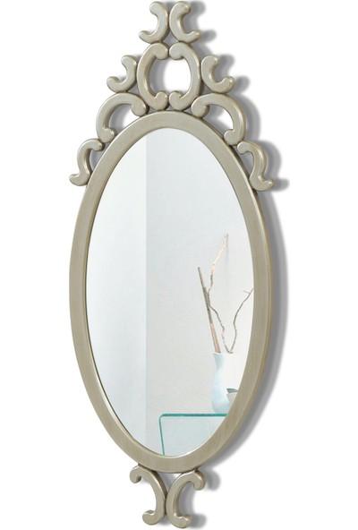 Camex Store Lake Boyalı Dekoratif Cnc Işleme Elips Şekilli Ayna