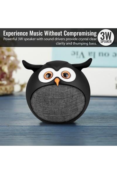 Promate Hedwig Bluetooth Hoparlör Çocuk Tip Baykuş Temalı 3W Şarjlı