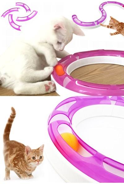 Kardelen Kedi Oyun Çemberi Oyun Tüneli Pembe