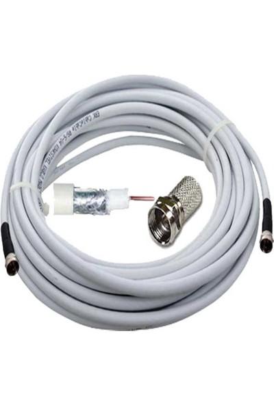 Anten Kablosu Uydu Kablosu Rg6 U 1m Gk-Rg6