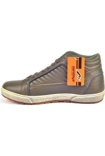 Owndays M-71586 Haki Günlük Erkek Spor Ayakkabı
