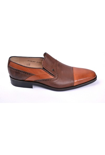 Nevzat Onay 6402-482 Deri Kahve Klasik Erkek Ayakkabı