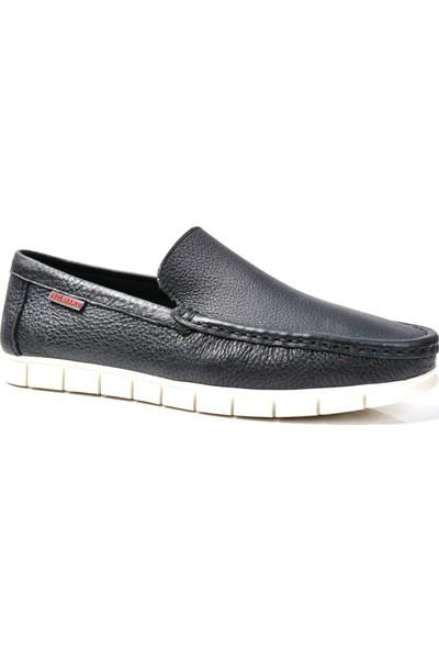 Paul Branco M-83740 Deri Siyah Loafer Erkek Ayakkabı