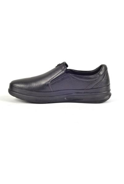 Paul Branco M-86041 Deri Siyah Günlük Erkek Ayakkabı