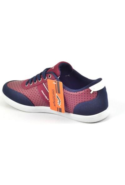 Owndays M-61209 Bordo Günlük Erkek Spor Ayakkabı