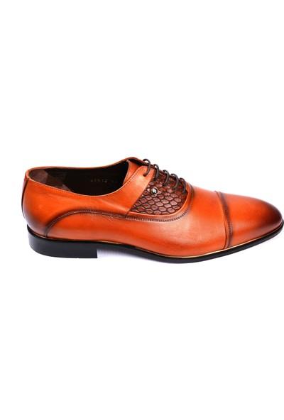 Paul Branco M-65518 Deri Taba Klasik Erkek Ayakkabı