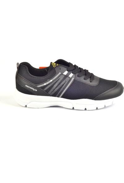 Owndays M-71101 Siyah Fileli Günlük Erkek Spor Ayakkabı