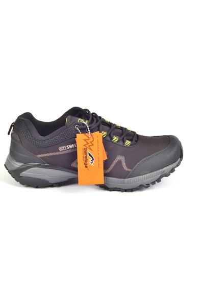 Owndays M-78508 Siyah-Sarı Kalın Taban Günlük Erkek Spor Ayakkabı