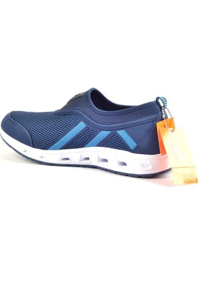 Owndays M-74526 Lacivert Fileli Günlük Erkek Spor Ayakkabı