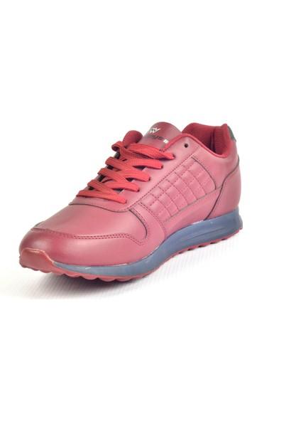 Owndays M-61647 Bordo Günlük Erkek Spor Ayakkabı