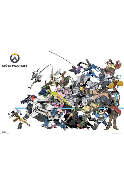 GB Eye Overwatch Battle Maxi Poster