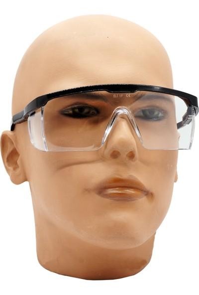 Eltos Ayarlı Koruyucu Şeffaf Gözlük