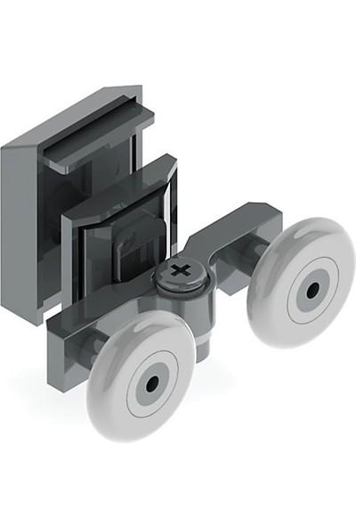 Anka Duşakabin Slot Ayarlı Kapaklı 24 mm Rulman