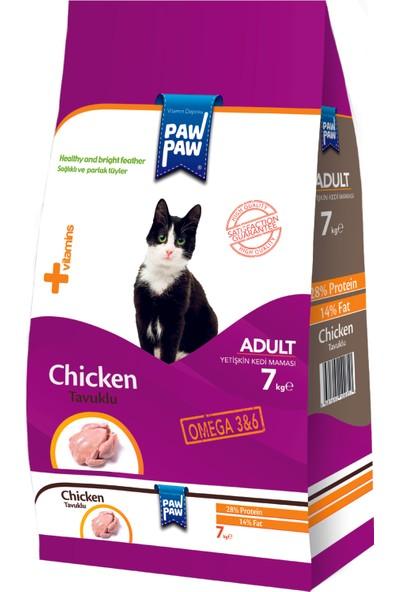 Pawpaw Tavuklu Yetişkin Kedi Maması 7 kg