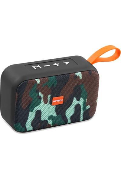 Hytech HY-S20 DC 5V Bluetooth Speaker Kamuflaj USB + TF Kart +
