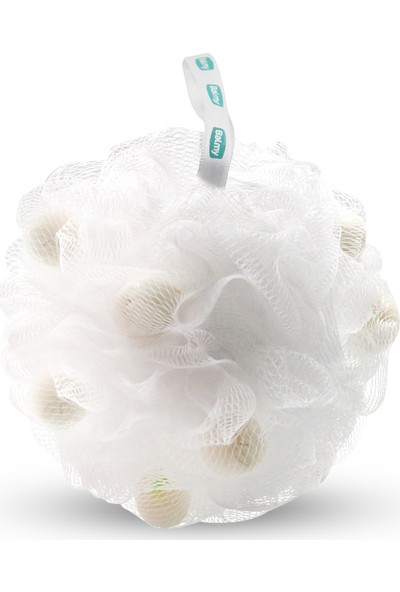 Balmy Beyaz Sabunlu Banyo Lifi