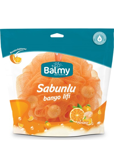 Balmy Naturel Portakal Sabunlu Banyo Lifi