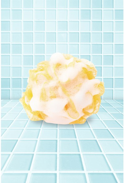 Balmy Naturel Muzlu Süt Sabunlu Banyo Lifi