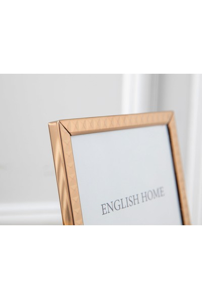 Englısh Home Bright Future Aluminum Çerçeve 10 x 15 cm Gold