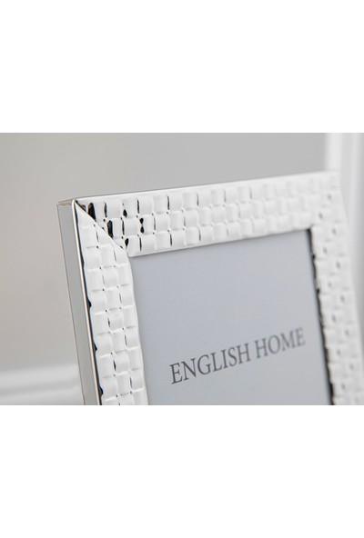 Englısh Home Bright Steel Aluminum Çerçeve 13 x 18 cm Gümüş