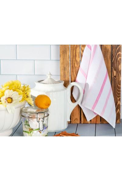 Englısh Home Summer Pamuk Tekli Kurulama Bezi 30 x 50 cm Pembe