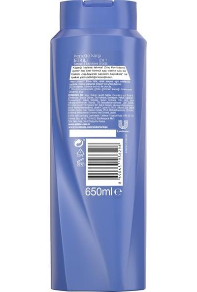 Elidor Kepeğe Karşı Etkili 2In1 Saç Bakım Şampuanı 650 ML