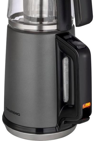Grundig TM 6960 C Teanox 4 Kat Dayanıklı Cam Demlikli Çay Makinesi