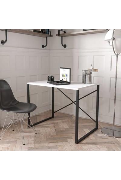 Wood House Bella Çalışma Masası - Beyaz