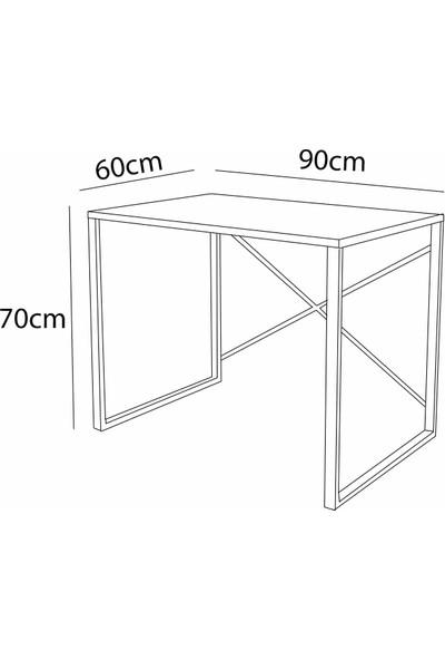Wood House Bella Çalışma Masası - Ceviz