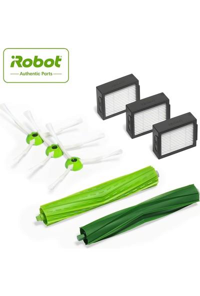 iRobot Roomba e5/i7 Serisi Yenileme Seti Fırça + Filtre