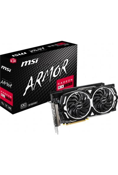 MSI Radeon RX 580 Armor GP OC 8GB 256Bit GDDR5 PCI-E 3.0 x16 DX12 Ekran Kartı