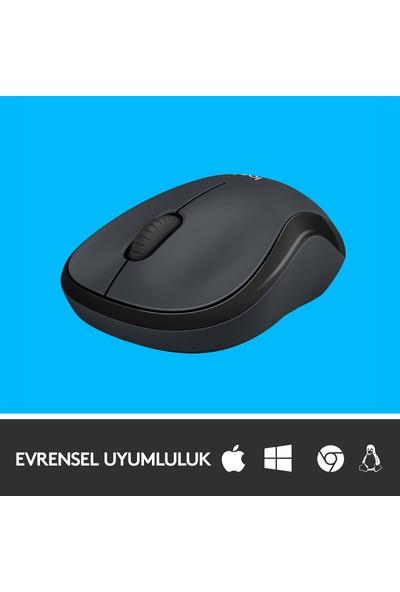Logitech M220 Sessiz Kablosuz Mouse-Siyah