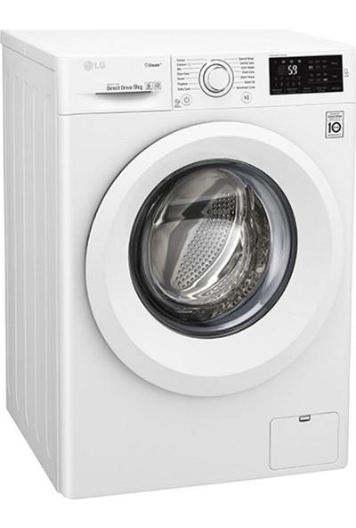 LG F4J5VNP3W A+++ 9 kg 1400 Devir Çamaşır Makinesi